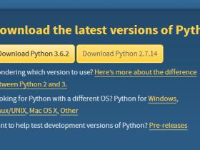 Linux安装python2.7、pip和setuptools