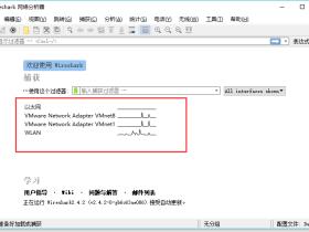 Wireshark的基本操作界面