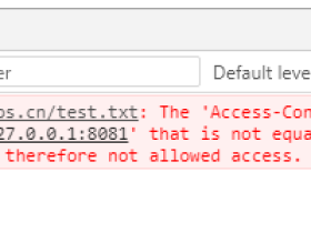 HTTP协议跨域问题