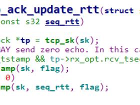 TCP中的RTT和RTO