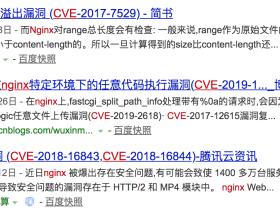 nginx隐藏版本号及修改软件名