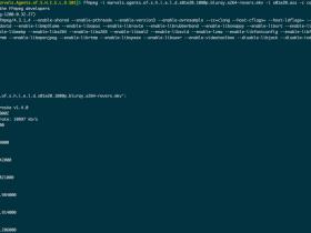 使用ffmpeg给视频添加字幕