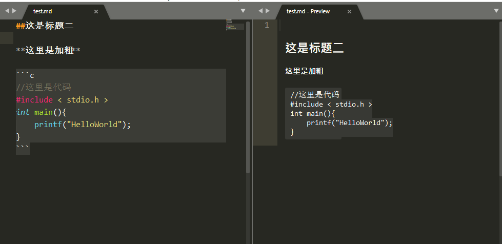 sublime text 3打造markdown编辑器