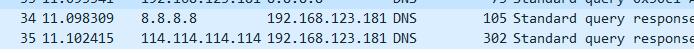 Wireshark抓取以太网数据包