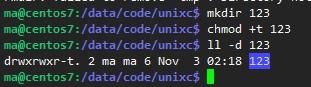 linux中的setuid、setgid以及sticky bit