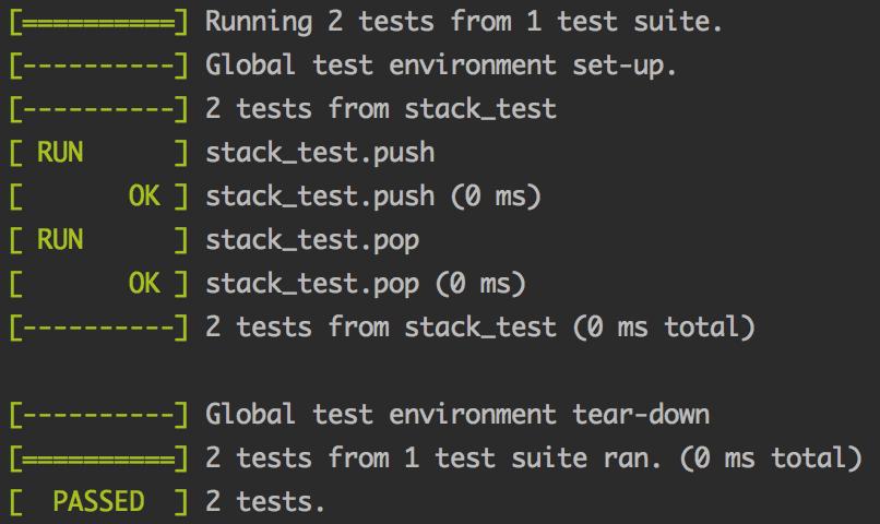 C++基于googletest做单元测试