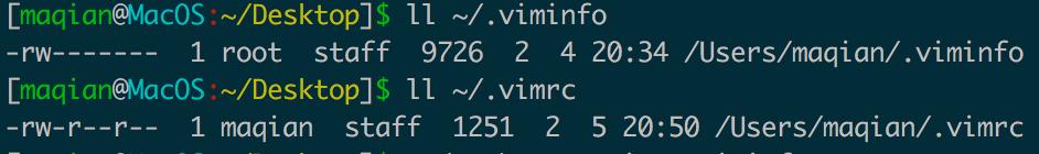 设置vim打开文件时光标在上次退出位置