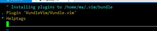 升级安装vim 8.0并添加vundle插件管理